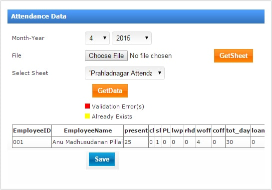 Attendance Management Software India