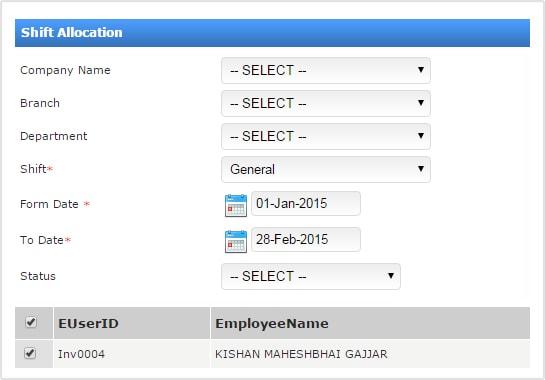 employee attendance system - Parfu kaptanband co
