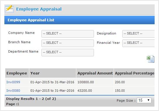 Appraisal Management System   Appraisal Software - INSYSPAY