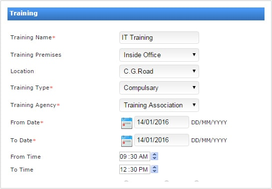 Training Management Software In Gujarat